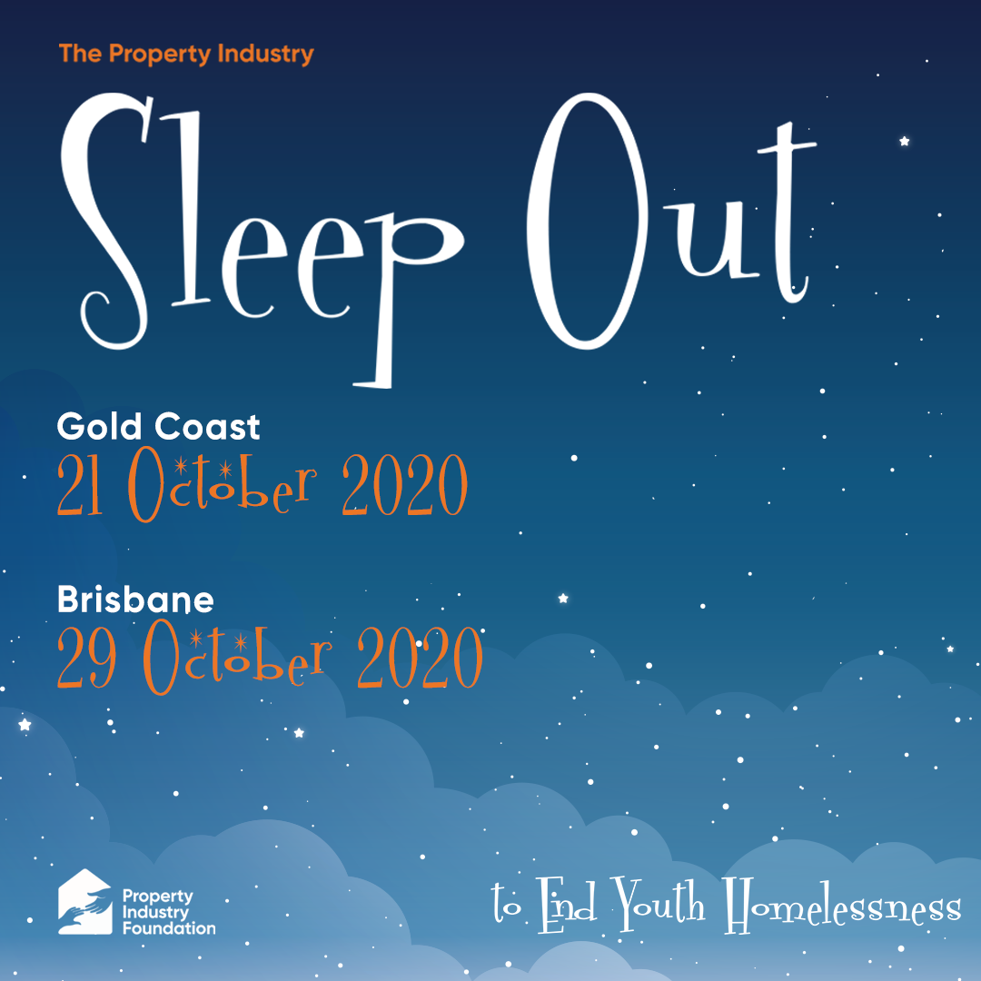 Sleep Out QLD Instagram Tile