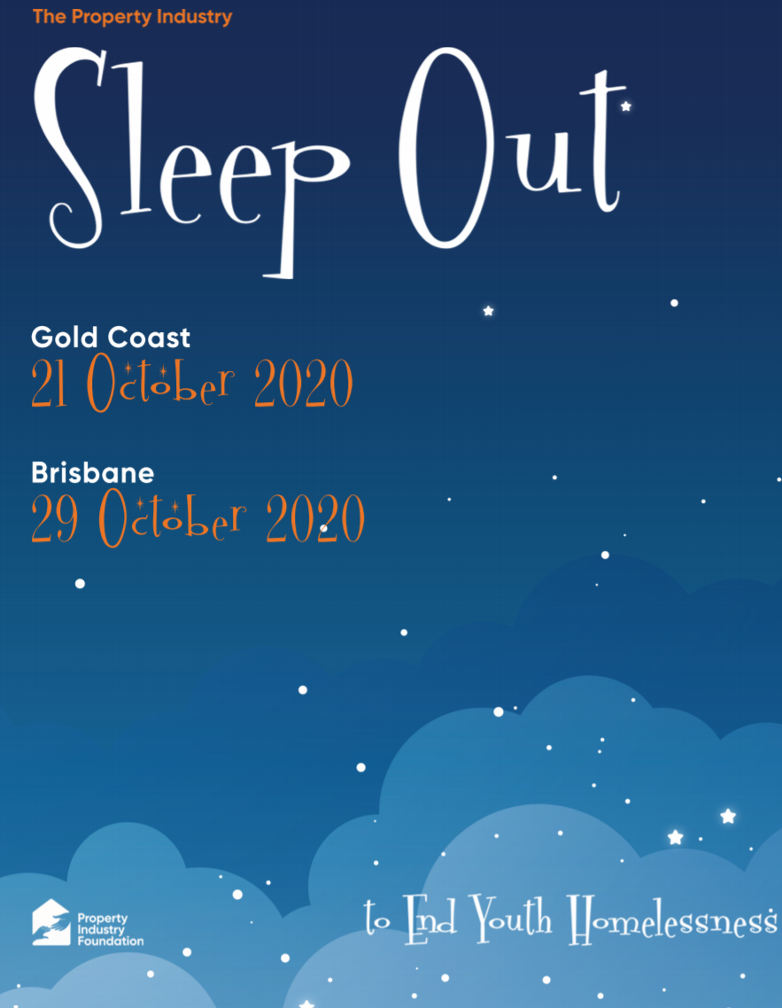 Sleep out QLD Poster