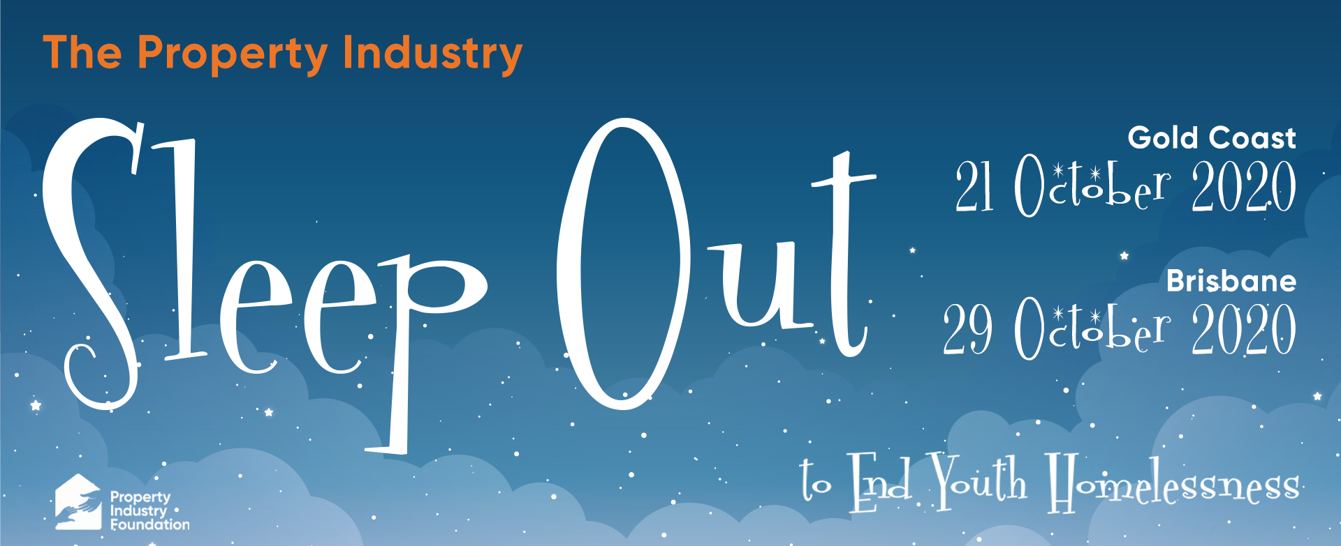 Sleep Out QLD Facebook Profile Banner