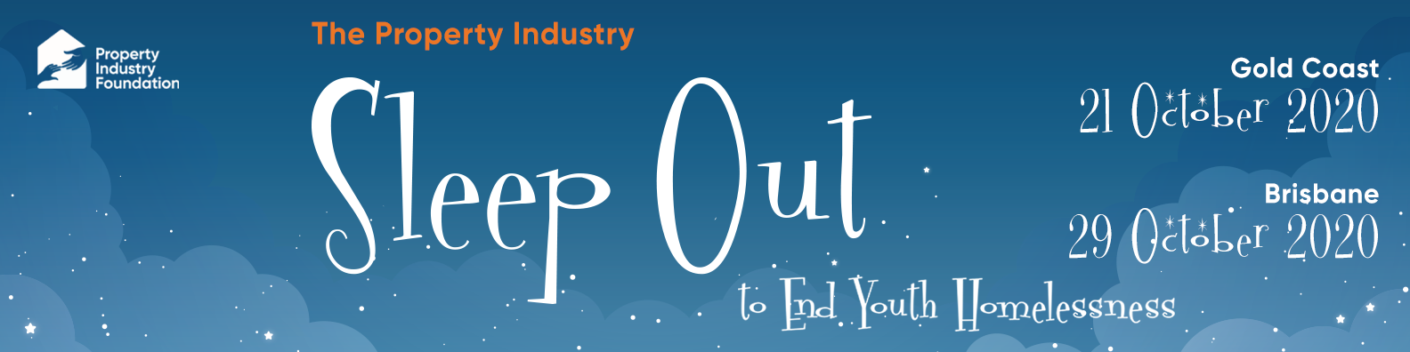 Sleep Out QLD LinkedIn Profile Banner